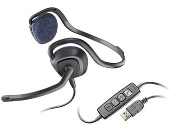 49% off Plantronics Audio 648 Stereo USB Headset