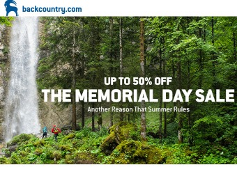 Backcountry Memorial day Sale - Up to 50% off