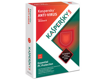 Kaspersky Anti-Virus 2013 (1 User) - Free After $20 Rebate
