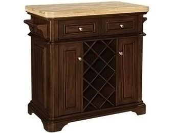 $460 off Tresanti Fontaine Kitchen Island Roasted Cherry