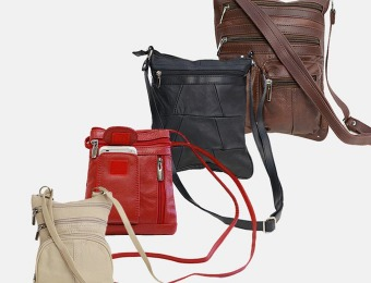 Up to 71% off Leather Cross Body Bags