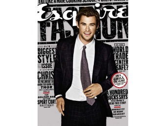 88% off Esquire Magazine Subscription, $4.95 / 10 Issues