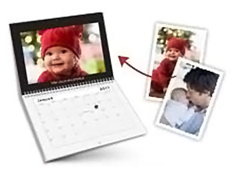 Free Customized Photo Wall Calendar