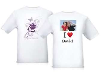 Free Personalized T-Shirt