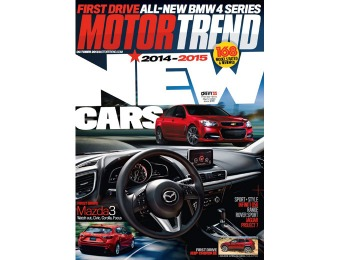 92% off Motor Trend Magazine Subscription, $4.50 / 12 Issues