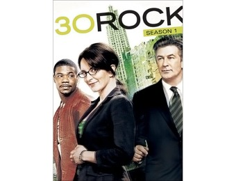 76% off 30 Rock: Season 1 (DVD)