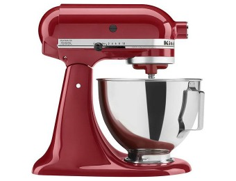 50% off KitchenAid KSM85PBER Tilt-Head Stand Mixer - Red