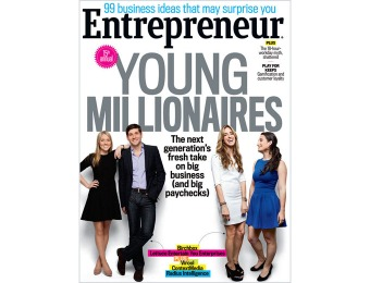 92% off Entrepreneur Magazine Subscription, $4.95 / 12 Issues