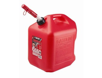 80% off Midwest Can 5600 5 Gallon Auto Shutoff Gas Can