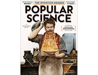 92% off Popular Science Magazine (1-year automatic renewal)