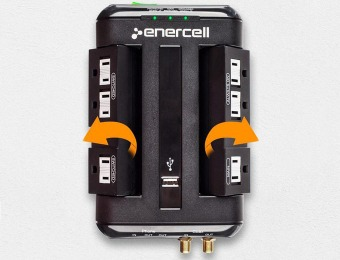 85% off Enercell 6-Outlet Smart Wall Surge Protector