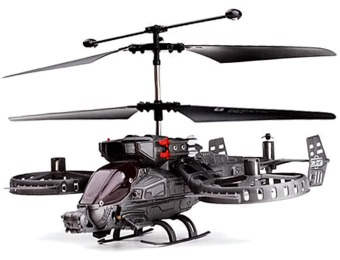 40% off 4-Ch Gunship Shooting IR Helicopter with Gyro
