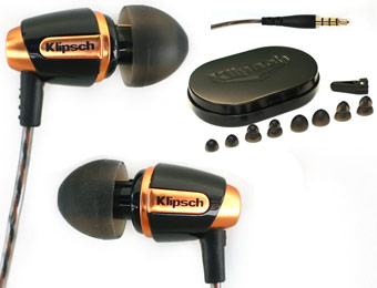 62% Off Klipsch Reference S4 Premium Noise-Isolating EarBuds