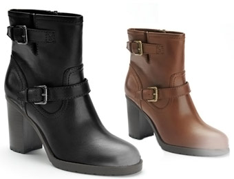$70 Off Women's Chaps Ankle Boots, 2 Colors Available