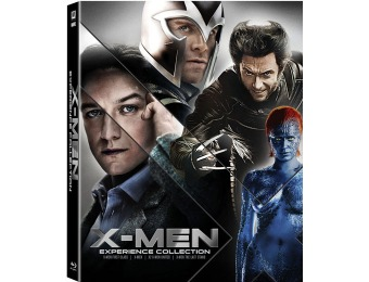 70% off X-Men Quadriogy Collection (Blu-ray)