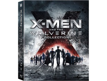 69% off X-Men & Wolverine 6-Film Boxed Set (Blu-ray)