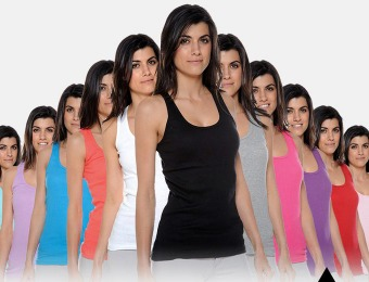 72% off 12-Pack 100% Cotton Racerback Women's Tank Tops