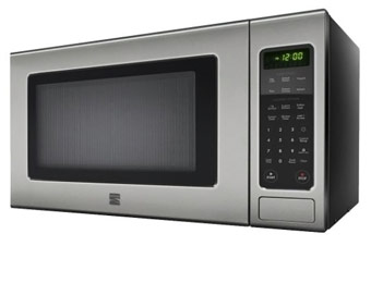 33% Off Kenmore Stainless Steel 1.2 cu/ft Countertop Microwave