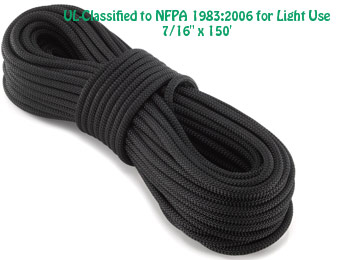 "$42 Off New England KM-III Light-Use Static Rope, 7/16"" x 150'"