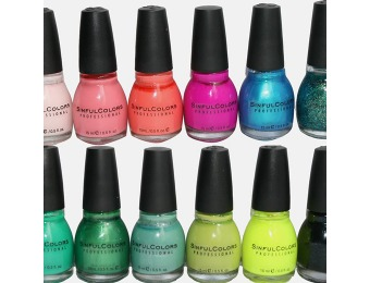 74% off 7-Pack Sinful Colors Nail Polish