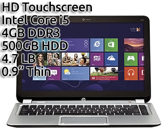 "Extra $100 off HP ENVY Ultrabook 14"" Touch-Screen Laptop"