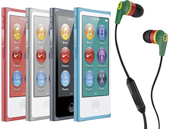 Free Skullcandy Earbuds with iPod nano 7th generation