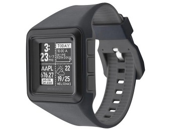 78% off MetaWatch iPhone & Android STRATA Watch, Stealth