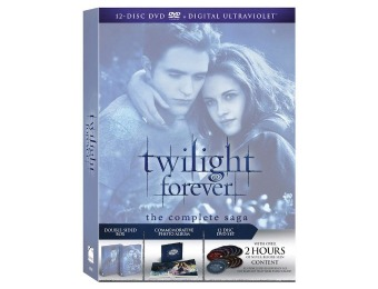75% off Twilight Forever: The Complete Saga DVD Box Set