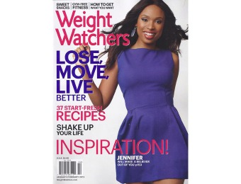 79% off Weight Watchers Magazine Subscription, $4.95 / 6 Issues
