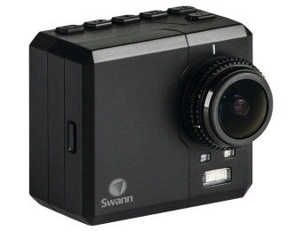 $190 off Swann SPORTM-GL Atom HD 1080p Action Sports Camera