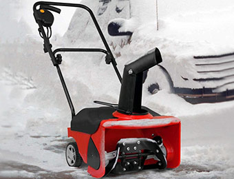 76% off DuroStar Snow Demon 1300W Electric Snow Blower