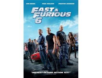83% off Fast & Furious 6 (DVD)