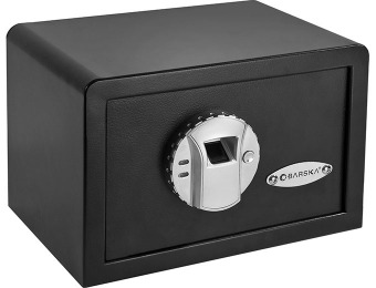 $246 off BARSKA Mini Biometric Safe, Model AX11620