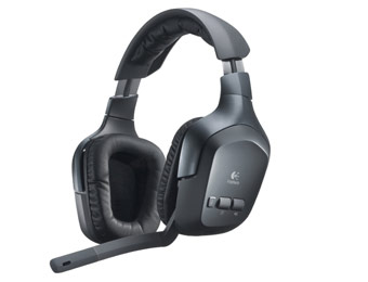 73% Off Refurbished Logitech F540 Wireless Gaming Headset