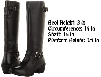 81% Off MIA Nacho Knee-High Leather Boots