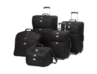 56% off American Tourister 5-Piece Luggage Set