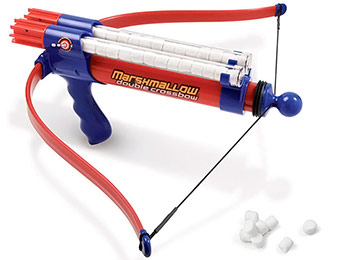 $25 off Double-Barreled Marshmallow Crossbow Shooter