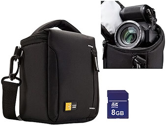 Extra 33% off Ultra Zoom Camera Case and SD Card Value Bundle