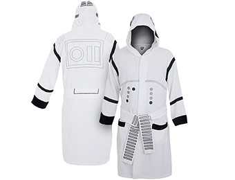 30% off Star Wars Stormtrooper Bathrobe