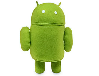77% off Android Plush Robot