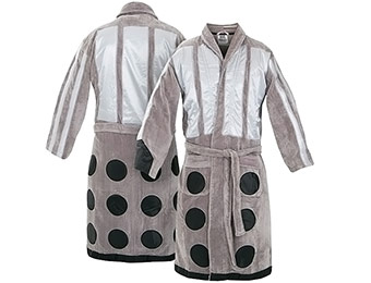 30% off Doctor Who Dalek Bathrobe
