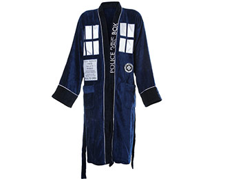 30% off Doctor Who TARDIS Bathrobe