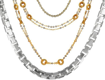 Up TO 60% Off Classic 14K Gold Chains