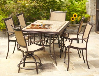 68% off Hampton Bay Westbury 7Pc Patio Furniture Dining Set