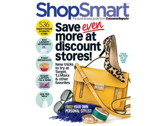 70% off ShopSmart Magazine Subscription, $14.96 / 6 Issues
