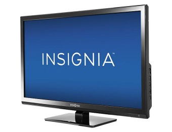 "17% off Insignia NS-24ED310NA1 24"" 720p LED HDTV DVD Combo"