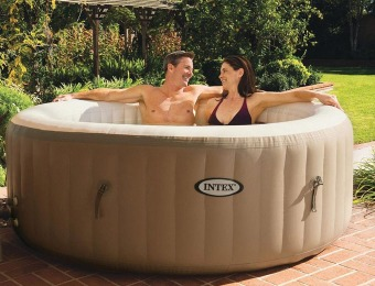 42% off Intex Purespa Bubble Therapy Inflatable Hot Tub Spa