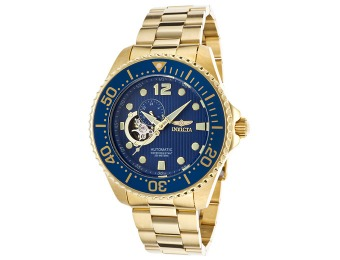 85% off Invicta 15393 Pro Diver Analog Automatic Gold Watch