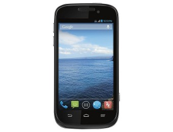 70% off Virgin Mobile Zact Awe No-Contract Cell Phone - Black