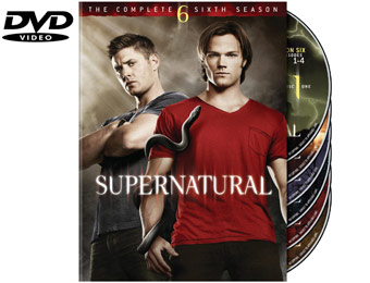 65% Off Supernatural - Complete 6th Season (DVD) (6 Discs)